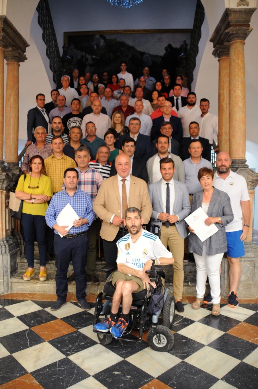 El Balonmano Aguilar y la Diputación de Córdoba firman un nuevo convenio