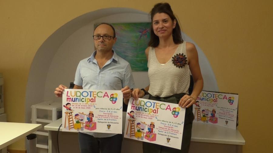 La Ludoteca Municipal de Aguilar abrirá a partir del próximo 19 de octubre