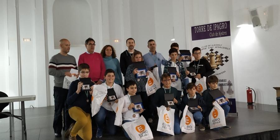 Celebrada una nueva edición del Torneo Local de Navidad del club de Ajedrez Torre de Ipagro