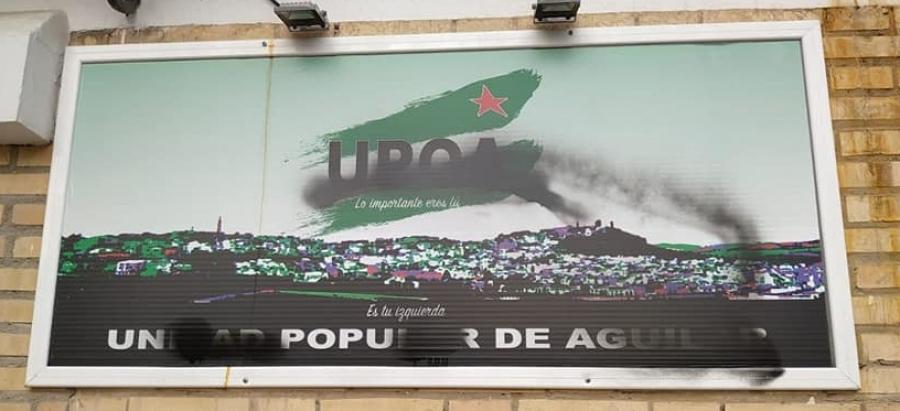 Actos vandálicos contra la sede de UPOA