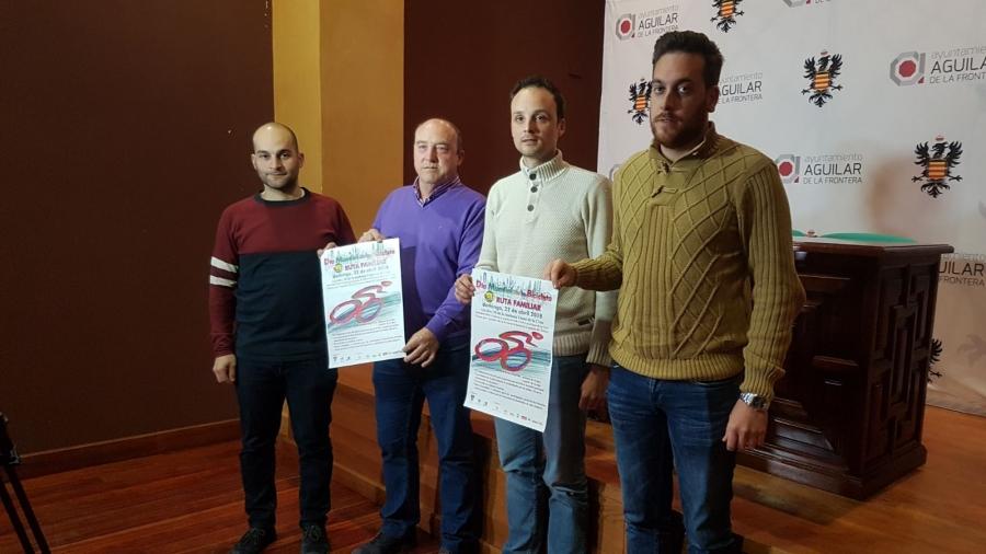 Aguilar, con el Día Mundial de la Bicicleta