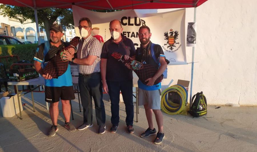 Manuel Estepa y Currito ganadores del Torneo de Petanca 'Ciudad de Aguilar'