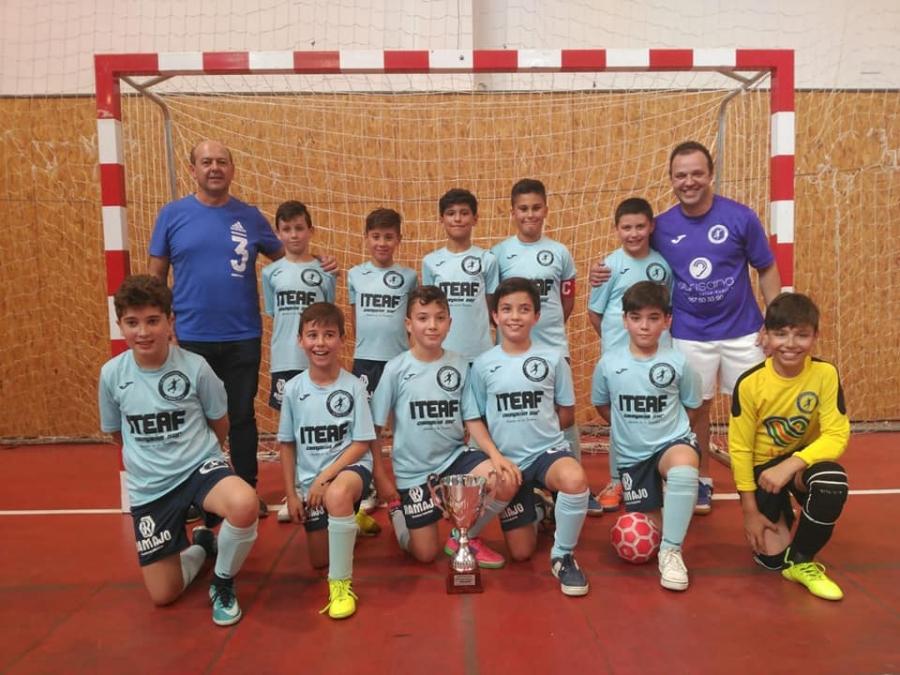El Aguilar FS A, subcampeón de la Copa Diputación de Córdoba