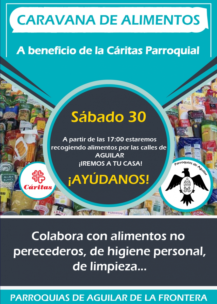 Caravana Solidaria de recogida de alimentos