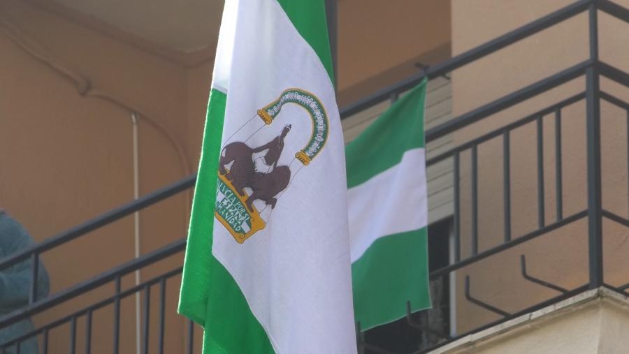 Homenaje a la bandera y a la comunidad educativa con motivo del Día de Andalucía