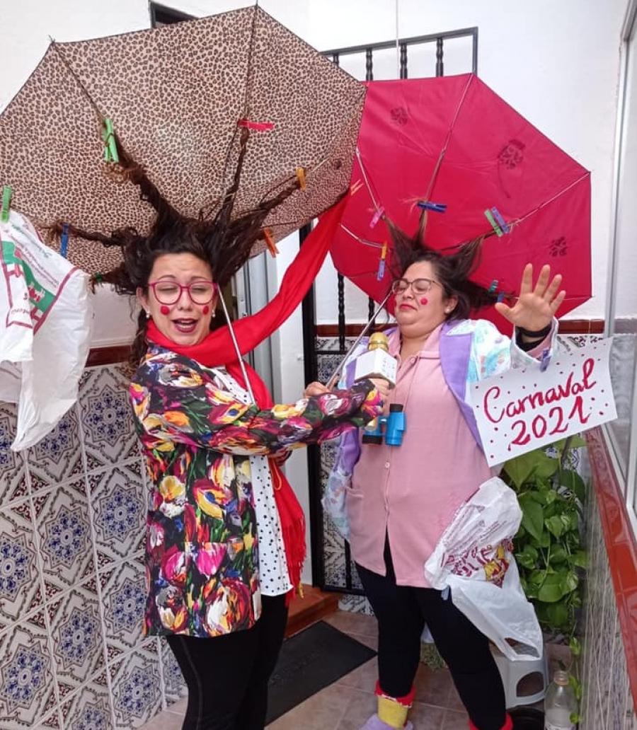 La Peña Carnavalesca da a conocer el nombre de los ganadores del concurso de disfraces online