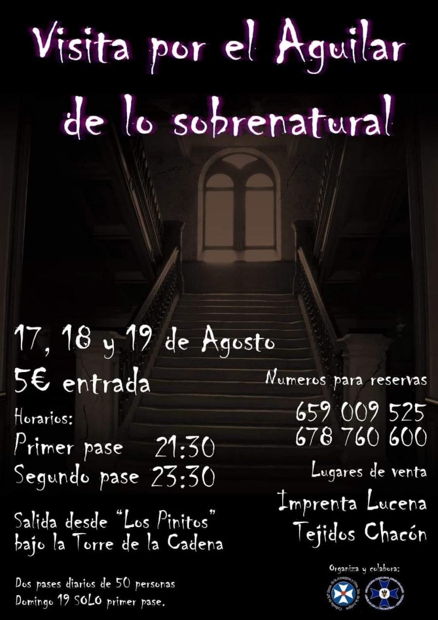 Visita por el Aguilar de lo sobrenatural
