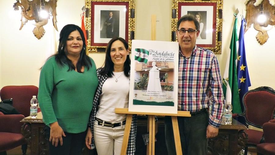El acto de homenaje a la bandera de Andalucía se celebrará en la Plaza Blas Infante