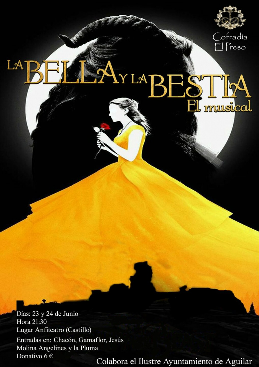 Llega el musical de la Bella y la Bestia