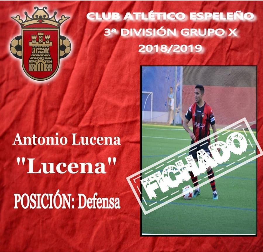 Antonio Lucena ficha por el Atlético Espeleño