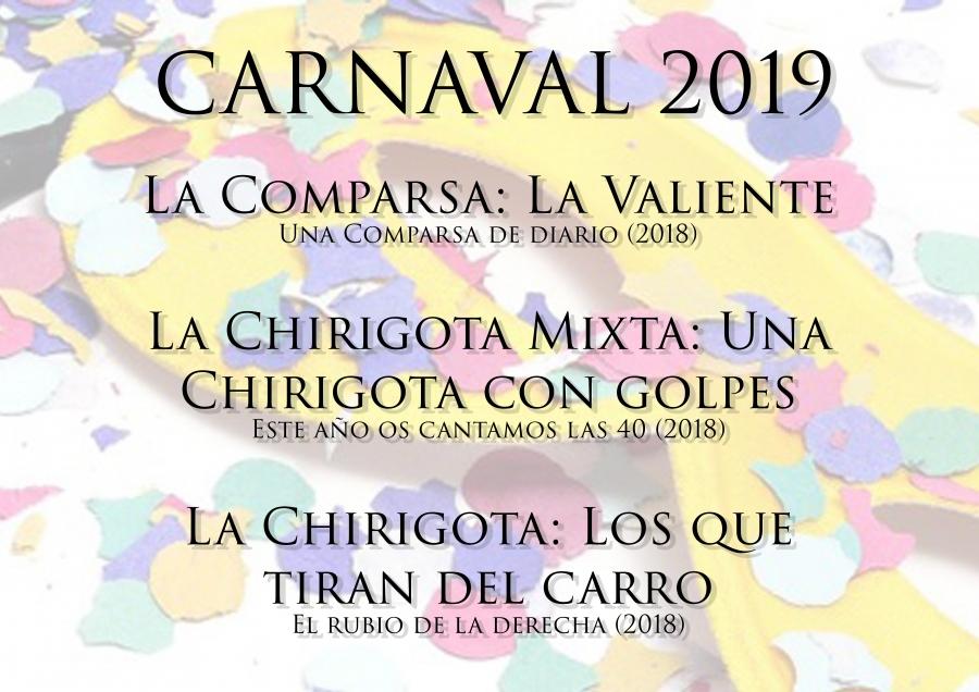Agosto también sabe a Carnaval