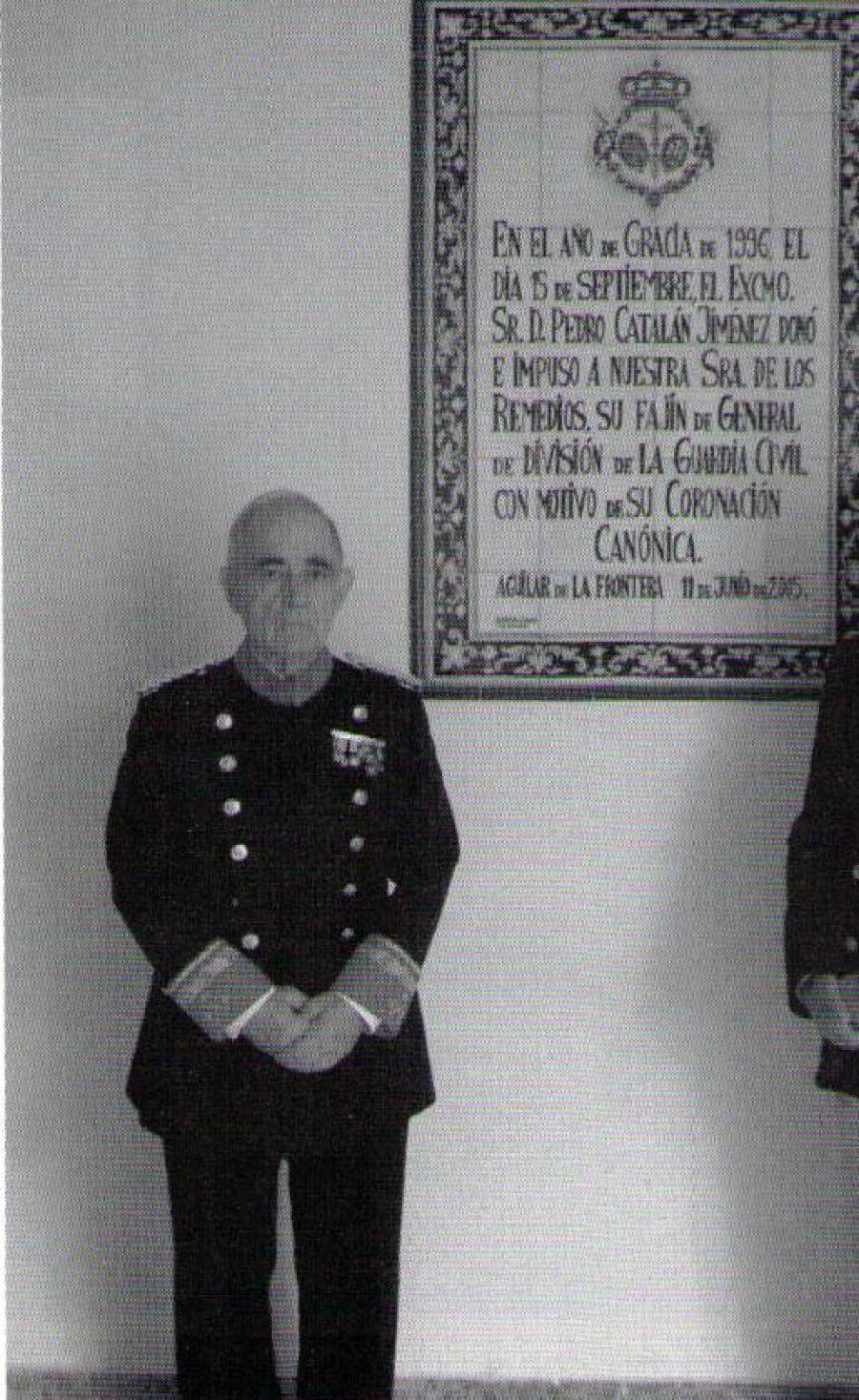 Fallece por coronavirus el aguilarense Pedro Catalán, General de División de la Guardia Civil
