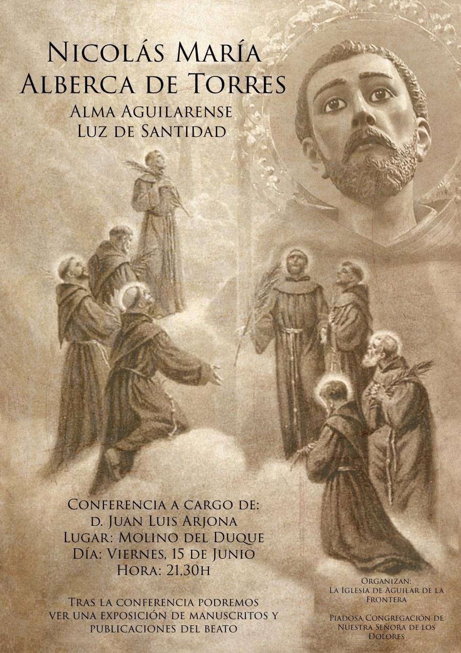 Conferencia sobre el Beato Nicolás María Alberca