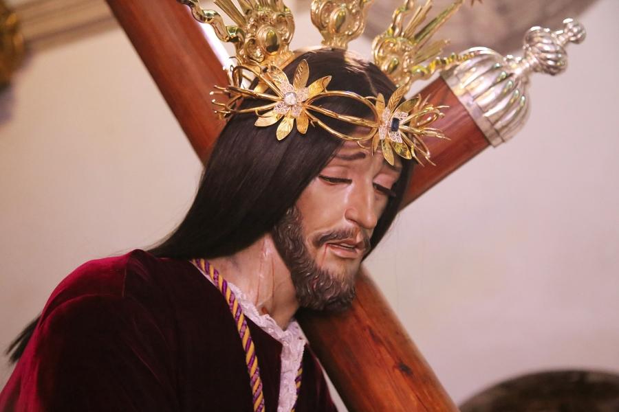 Jesús Nazareno impartirá mañana su bendición y podrá seguirse a través de retransmisiones en directo