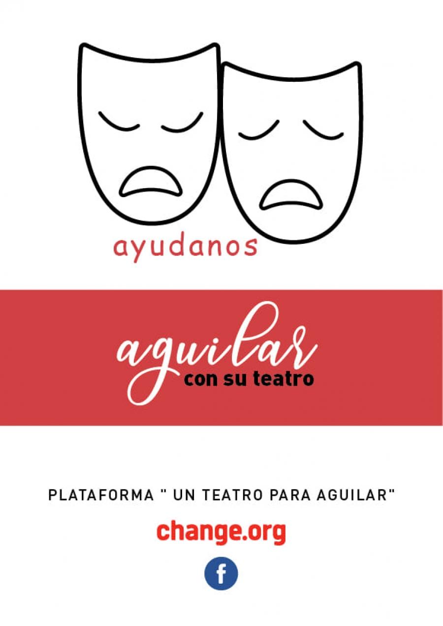 Aguilar reivindica su teatro