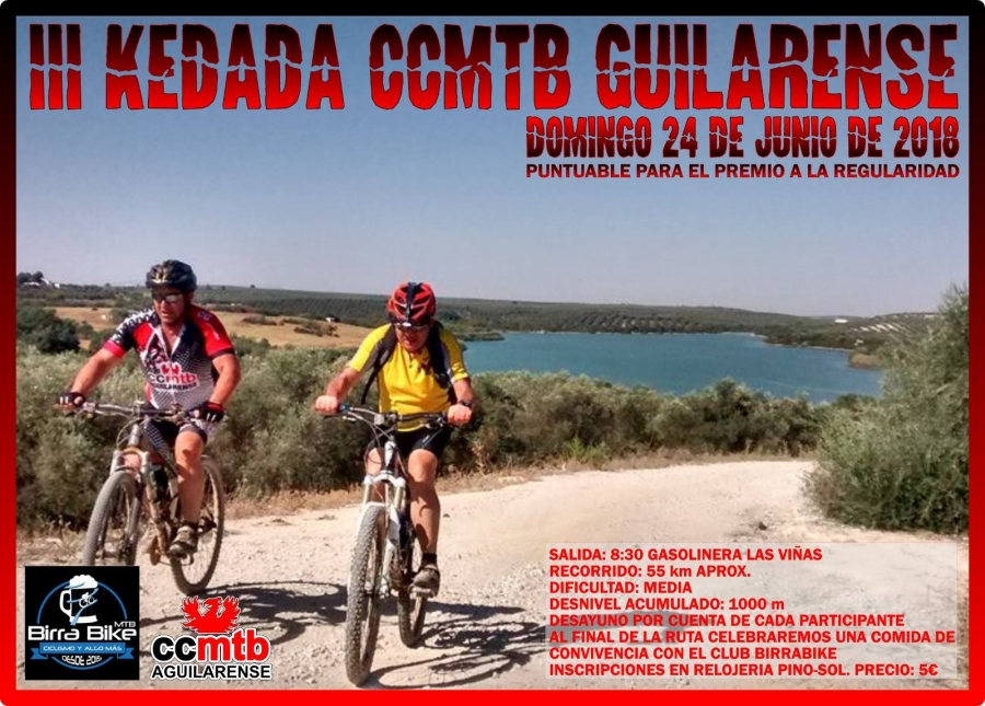III Kedada del Club Ciclista MTB Aguilarense