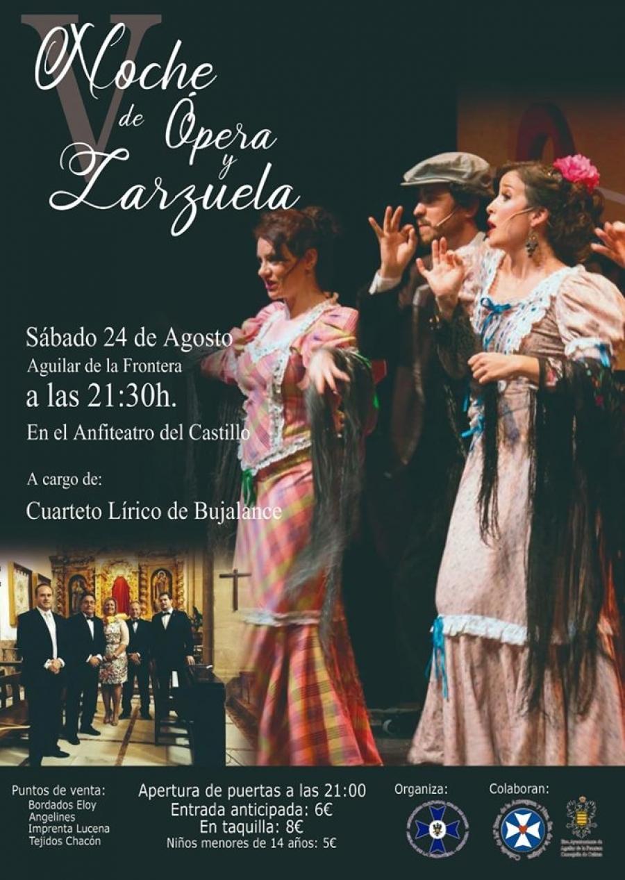 """Nueva edición de """"Noche de Ópera y Zarzuela"""""""