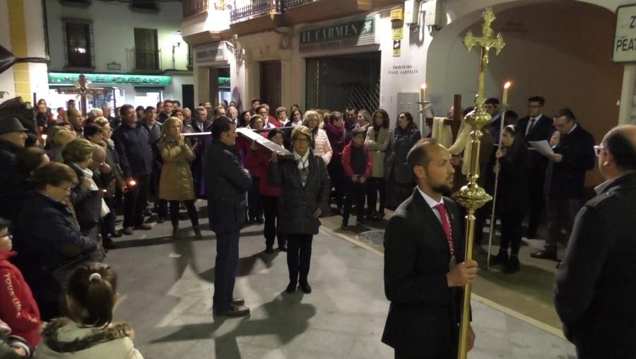 El Via Crucis de Apertura de Cuaresma será el 28 de febrero y lo presidirá Nuestro Padre Jesús en su Entrada Triunfal en Jerusalén