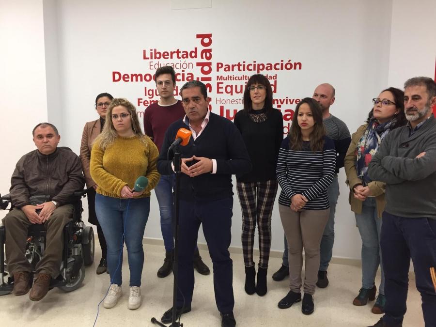 """PSOE: """"Nuestro programa electoral será un modelo de ciudad"""""""