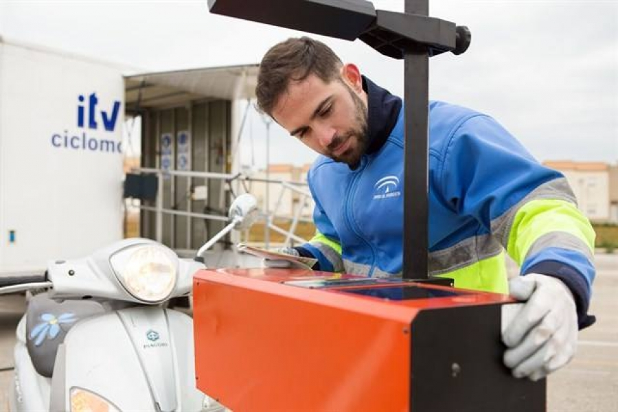 Una unidad móvil de ITV se trasladará hasta Aguilar para facilitar la inspección de ciclomotores