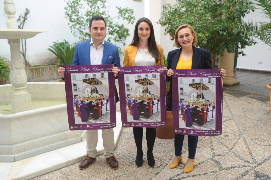 Presentada en Diputación la Semana Santa Chiquita de Aguilar