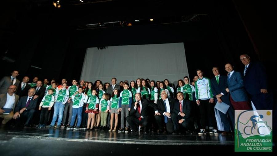 El club MTB Tortugas Cojas premiado por la Federación Andaluza de Ciclismo