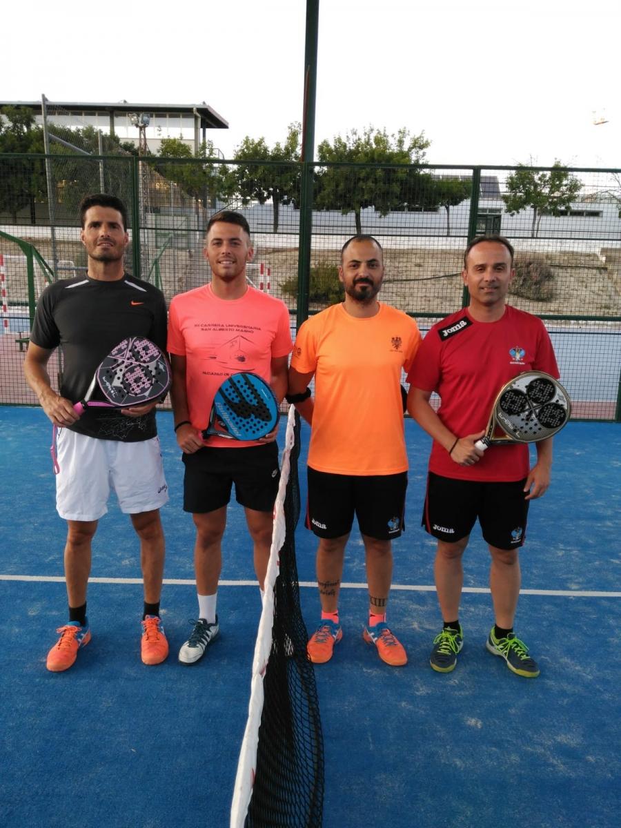 Kiko Arrebola y Javi Guerrero triunfan en el IX Torneo de Pádel de Feria Real