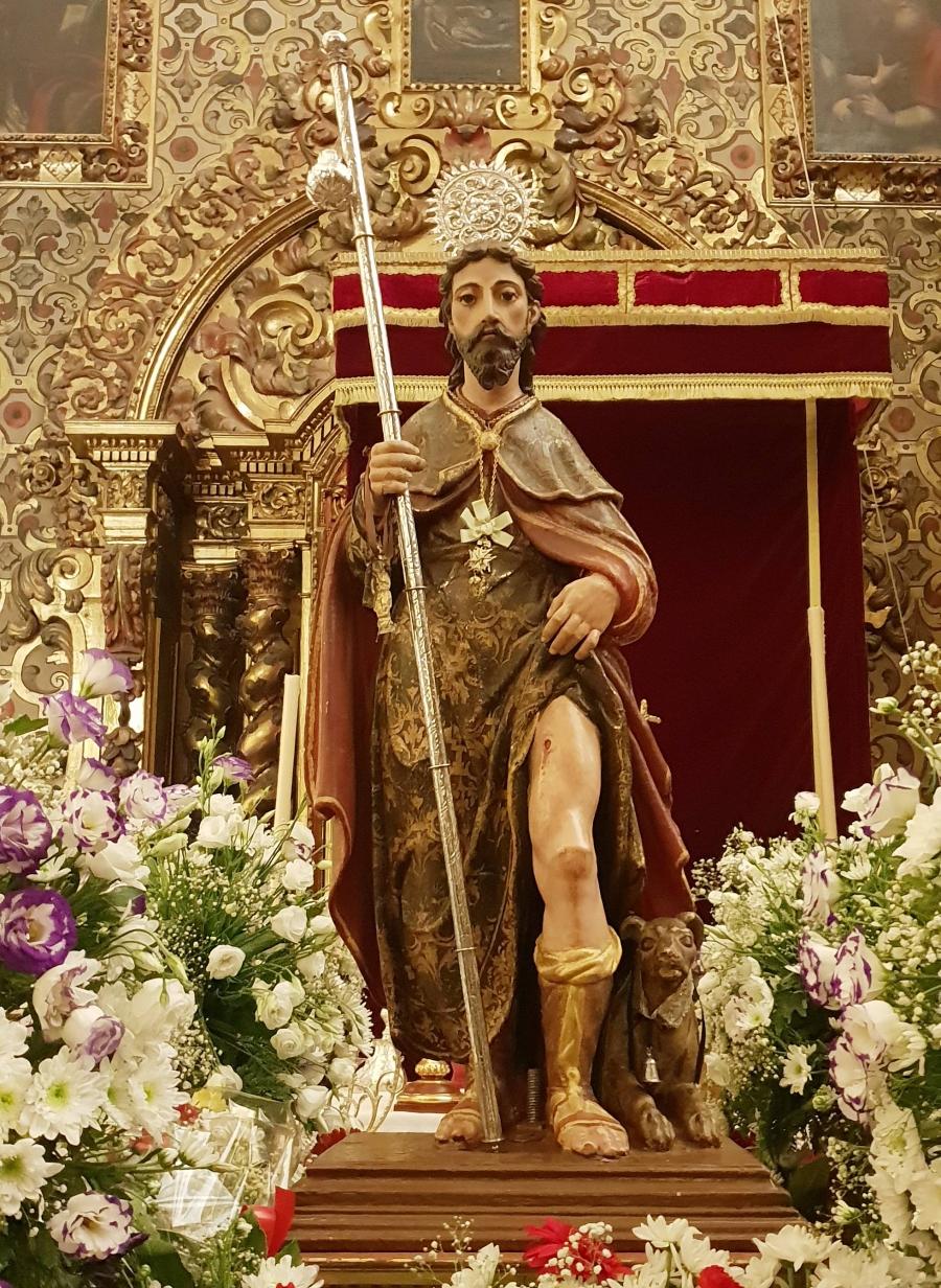 Suspendida la procesión de San Roque pero se mantendrán los cultos y la venta de roscas