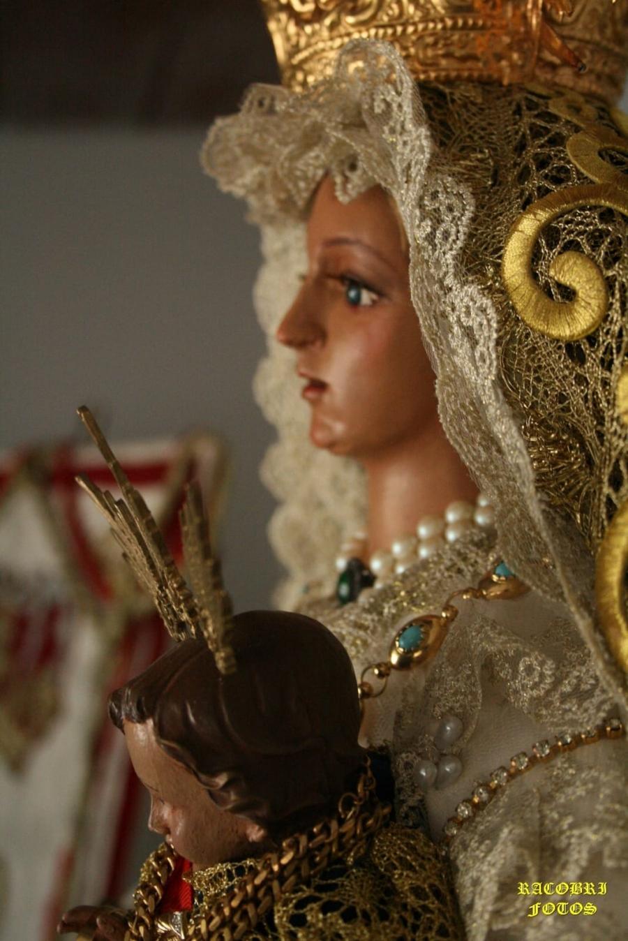 Traslado del Simpecado de María Santísima Reina y Pastora de las Minas hasta la Ermita