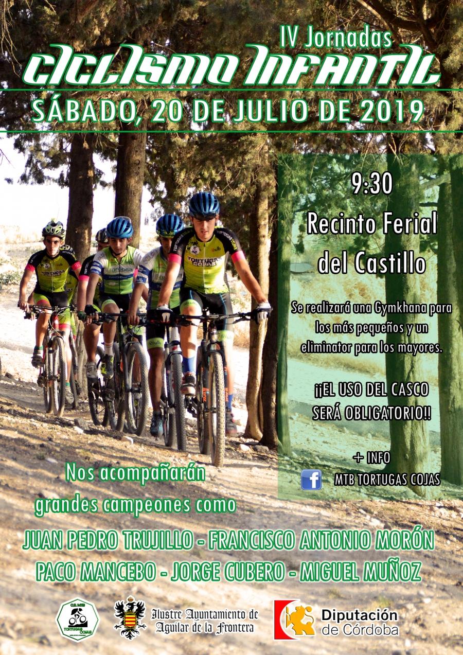 El Club MTB Tortugas Cojas organizará este sábado las cuartas Jornadas de Ciclismo Infantil