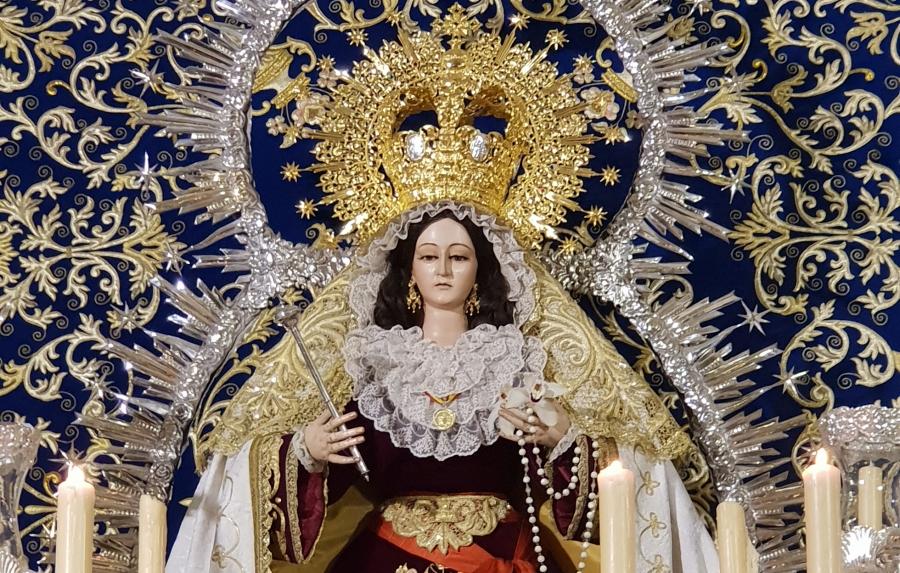 Nuestra Señora de los Remedios vuelve a la Iglesia de la Veracruz tras su restauración