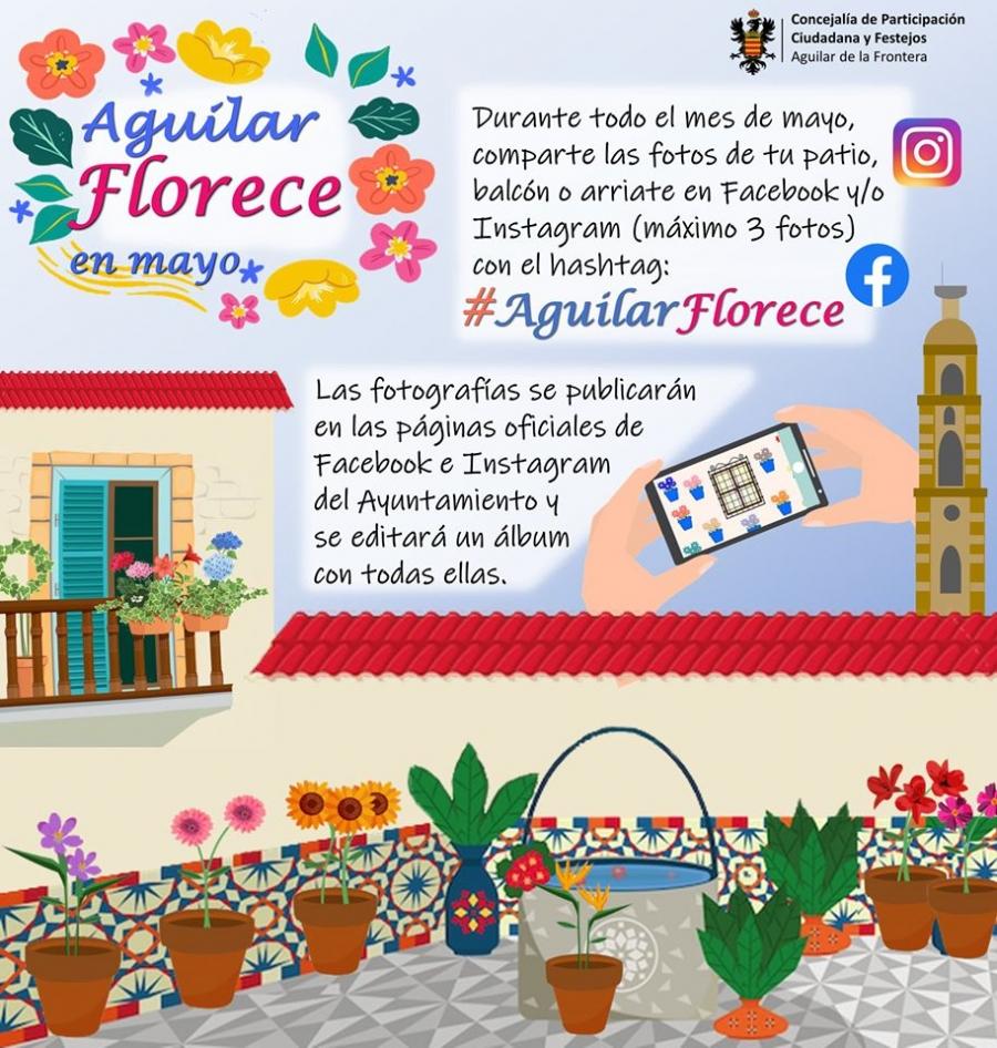 """""""Aguilar Florece"""", nueva iniciativa de la concejalía de Participación Ciudadana"""