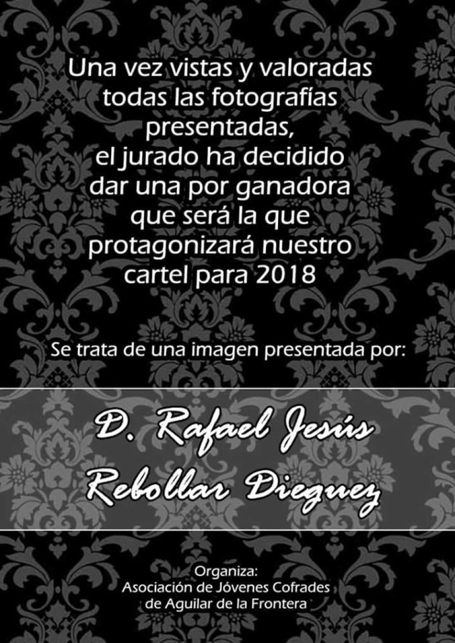 Rafael J. Rebollar gana el Concurso de Fotografía de ASJOCOA