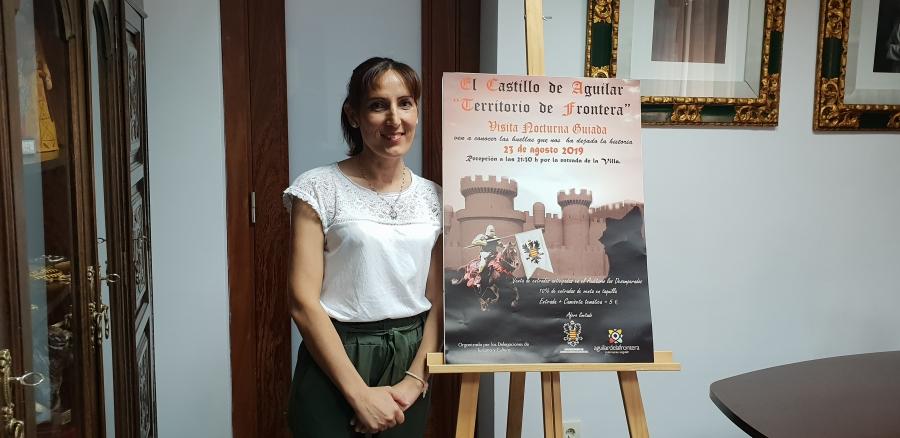 """Visita Nocturna Guiada por el Castillo de Aguilar """"Territorio de Frontera"""""""