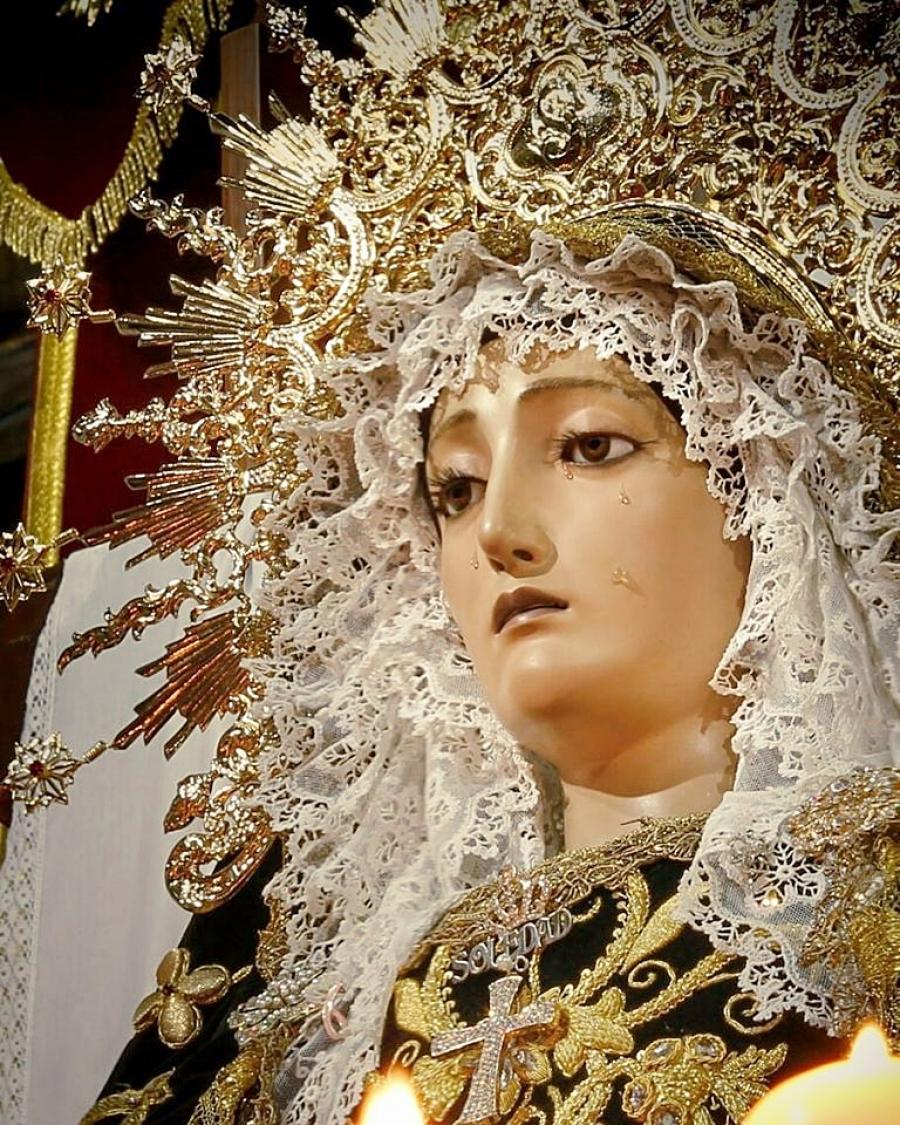 """Le conceden el Título de """"Real"""" a la Cofradía de María Santísima de la Soledad"""