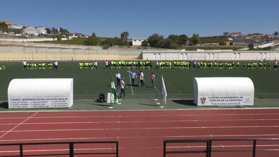 La Escuela de Fútbol de Aguilar presenta sus equipos para la temporada 2019-2020