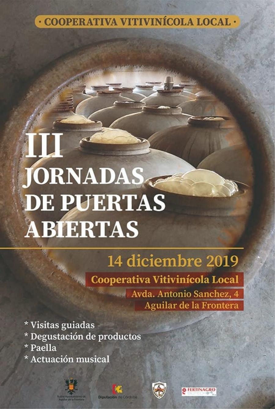 Terceras Jornadas de Puertas Abiertas de la Cooperativa Vitivinícola Local