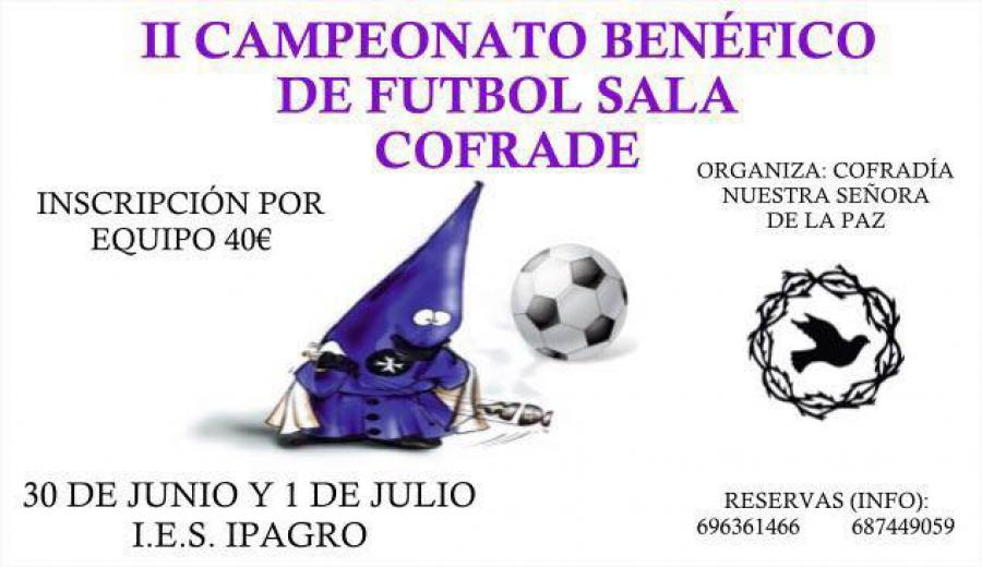 II Campeonato Benéfico de Fútbol Sala Cofrade
