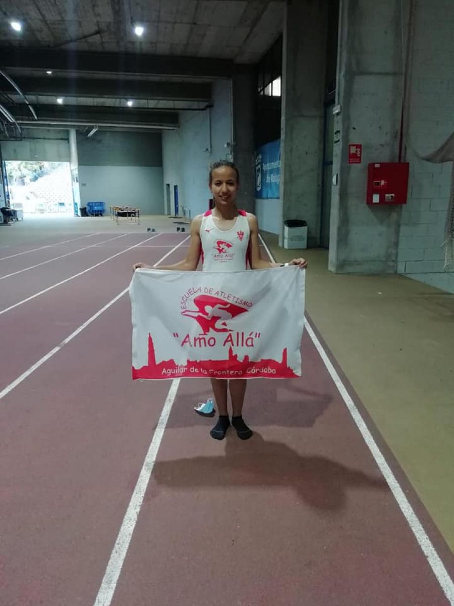 Sobresaliente fin de semana para la atleta Fátima Ouhaddou