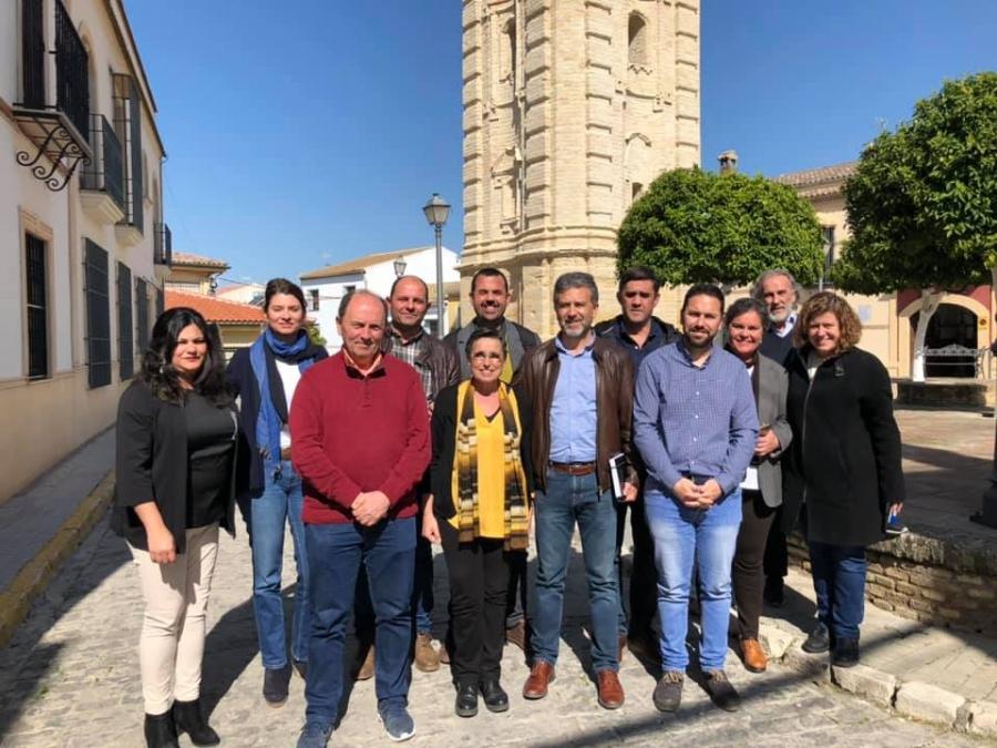 El Equipo de Gobierno de Aguilar traslada sus propuestas a la Diputación de Córdoba